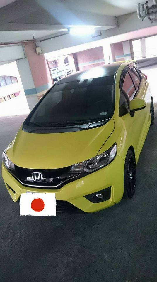Glass Carcoating HOME SERVICE HONDA JAZZ 2016 YELLOW