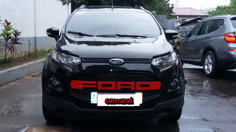 Glass Carcoating-ford Ecosport 2016 Black Samurai Carcoating Made In Japan