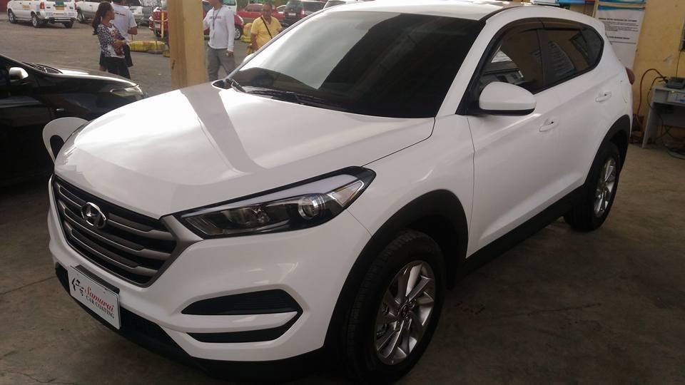 Gl Carcoating Hyundai Tucson 2016 Pure White