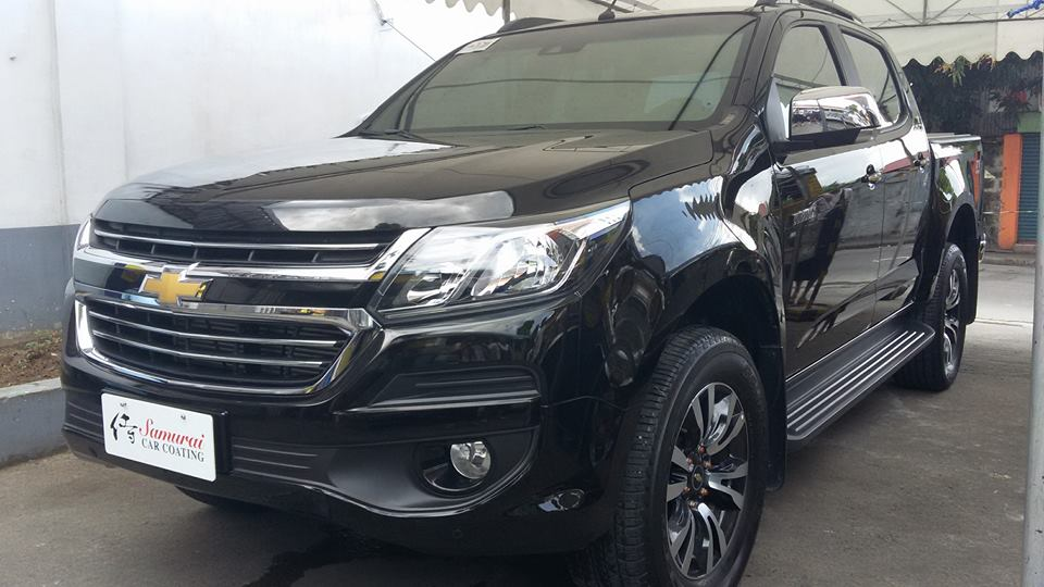 Glass Carcoating-chevrolet Colorado 2017 Black Samurai