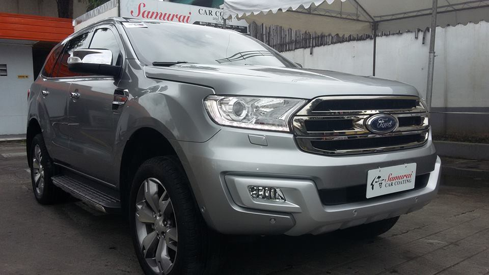 Glass Carcoating-ford Everest 2016 Aluminum Gray Samurai