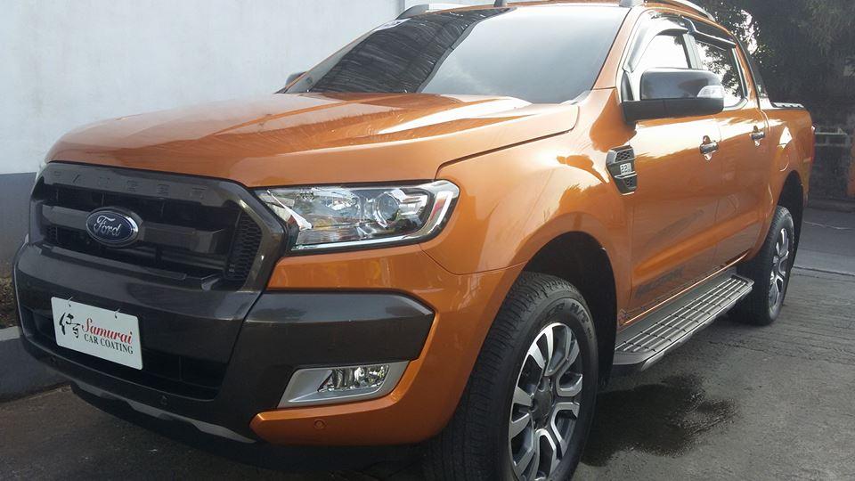 Glass Carcoating-ford Ranger 2017 Orange Samurai