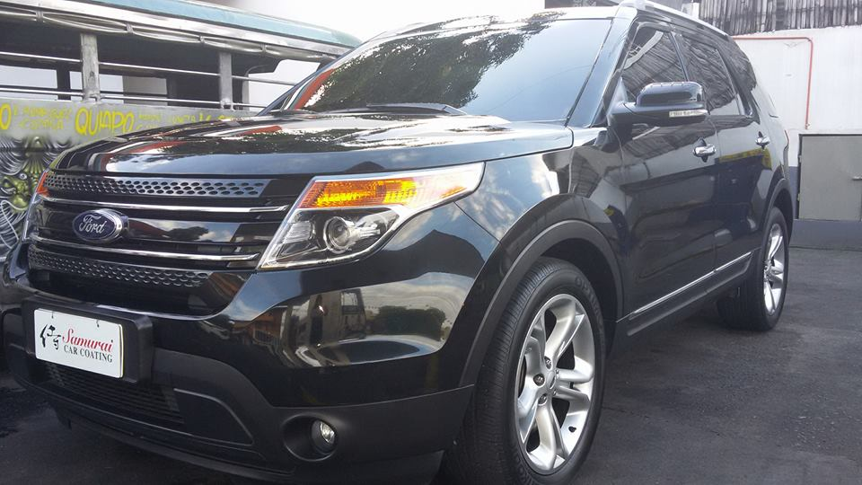 glass carcoatingford explorer 2015 black - Ford Explorer Black 2015