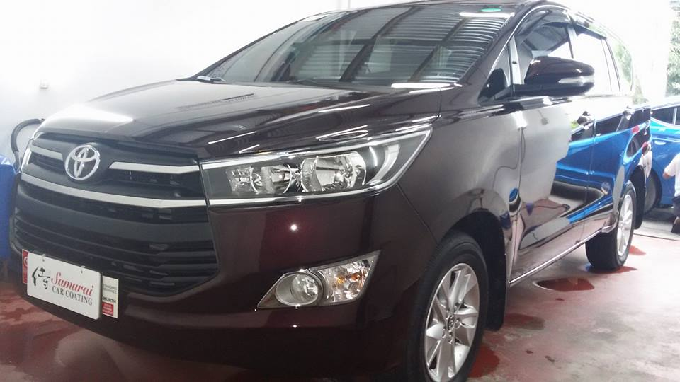 Glass Carcoating-royota Innova 2017 Blackish Red Samurai